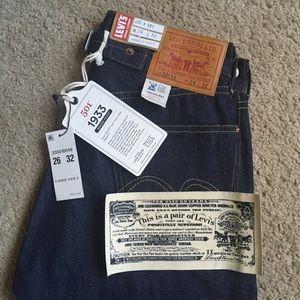 Levis Vintage 1933 501xx Cone Denim Jeans 26x32